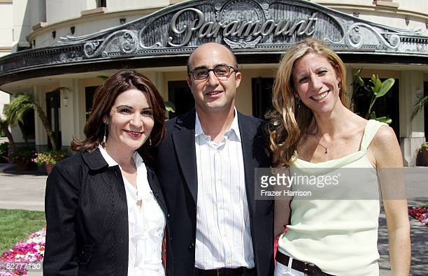 Director Marilyn Agrelo CoPresident of Paramount Classics David Dinerstein and producer Amy Sewell at the premiere of Paramount Classics 'Mad Hot...
