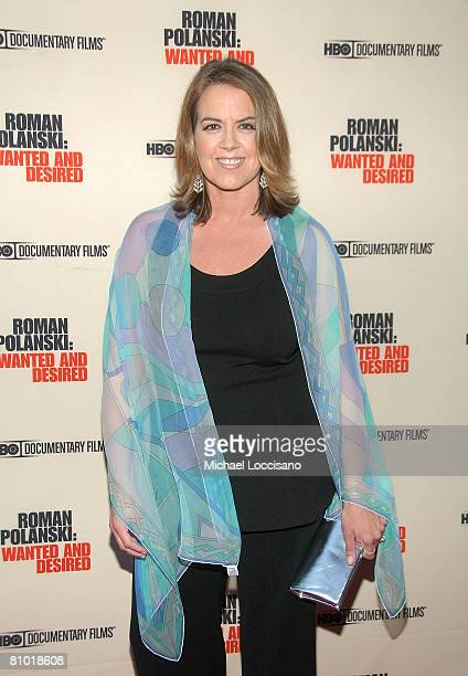 Director Marina Zenovich attends the HBO Documentaries premiere Of Roman Polanski Wanted And Desired at The Paris Thatre in New York City on May 6...