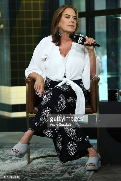 Director Marina Zenovich visits Build studio on July 12 2018 in New York City