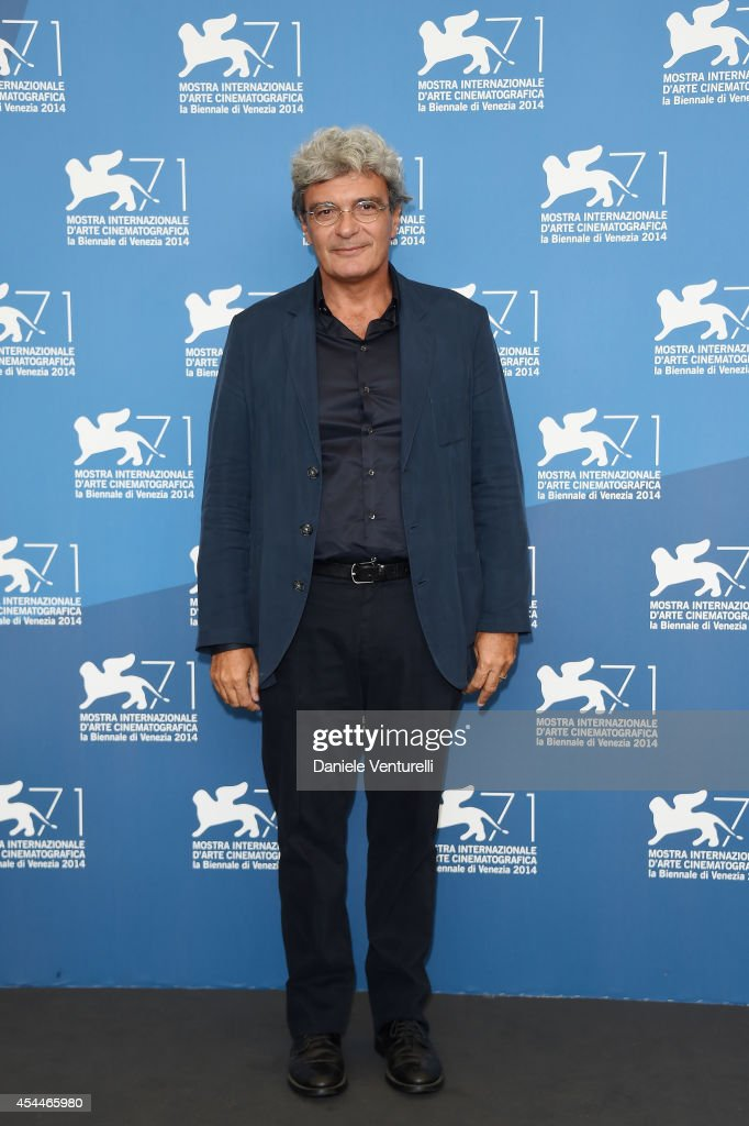 Director Mario Martone attends 'Il Giovane Favoloso' Photocall during the 71st Venice Film Festival at Palazzo Del Casino on September 1, 2014 in Venice, Italy.