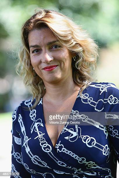 Director Mario Martone attends Pastorale Cilentana photocall on August 12 2015 in Locarno Switzerland