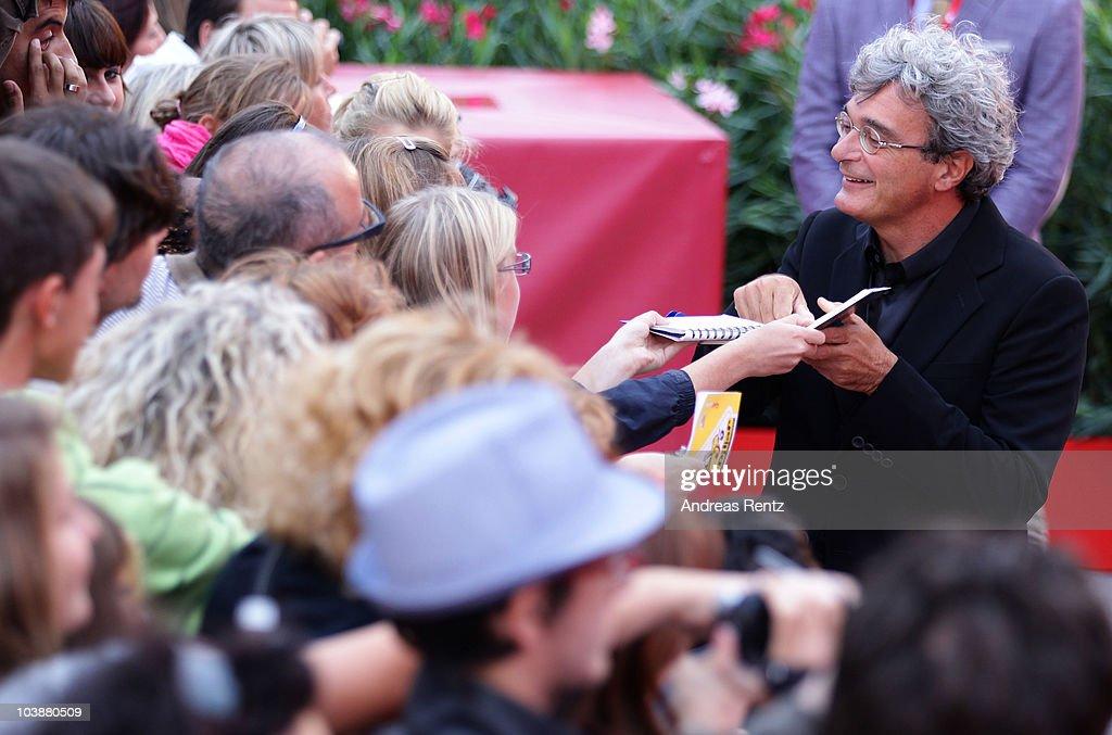 Director Mario Martone attends the 'Noi Credevamo' premiere during the 67th Venice Film Festival at the Sala Grande Palazzo Del Cinema on September 7, 2010 in Venice, Italy.