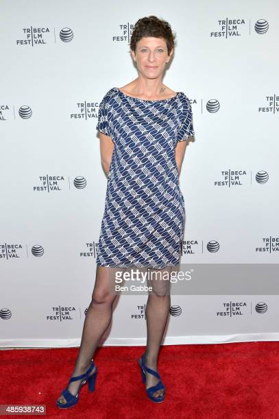 Director Marion Vernoux attends the Bright Days Ahead Premiere during the 2014 Tribeca Film Festival at the SVA Theater on April 21 2014 in New York...