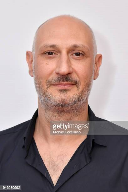 Director Marios Piperides attends the screening of 'Smuggling Hendrix' during the Tribeca Film Festival at Cinepolis Chelsea on April 20 2018 in New...