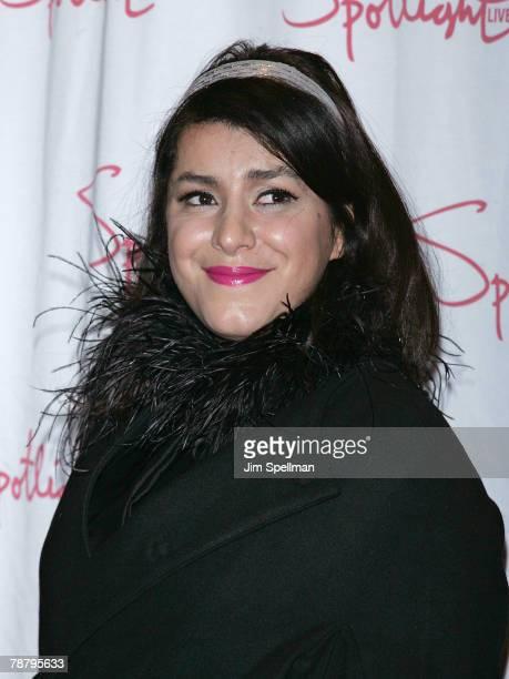 Director Marjane Satrapi arrives at the 2007 New York Film Critic's Circle Awards at Spotlight on January 6, 2008 in New York City.