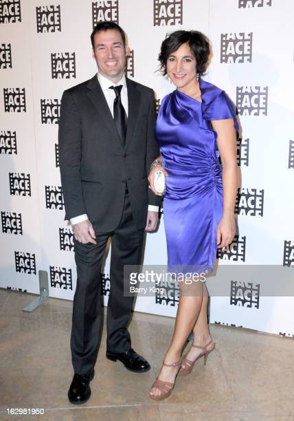 Director Mark Andrews and producer Katherine Sarafian attend the 63rd Annual ACE Eddie Awards at The Beverly Hilton Hotel on February 16 2013 in...