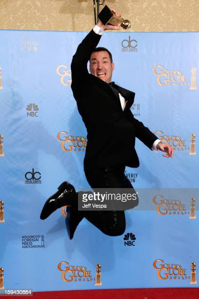 Director Mark Andrews poses in the press room at the 70th Annual Golden Globe Awards held at The Beverly Hilton Hotel on January 13 2013 in Beverly...