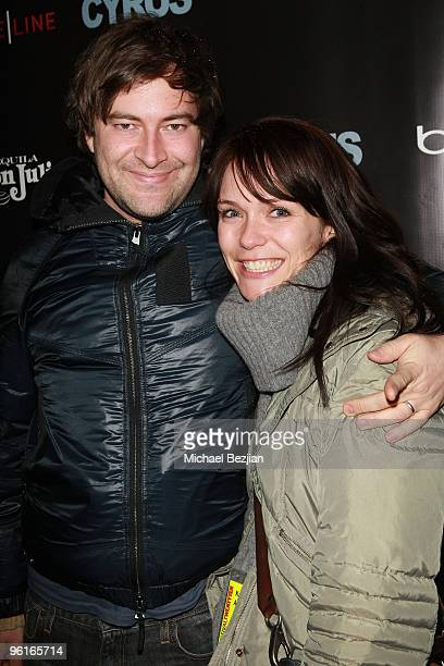 """Director Mark Duplass and Katie Duplass attend Don Julio Presents """"Cyrus"""" After Party on January 23, 2010 in Park City, Utah."""