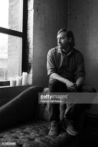 Director Mark Duplass is photographed for MovieMaker Magazine on September 10 2016 in Toronto Canada