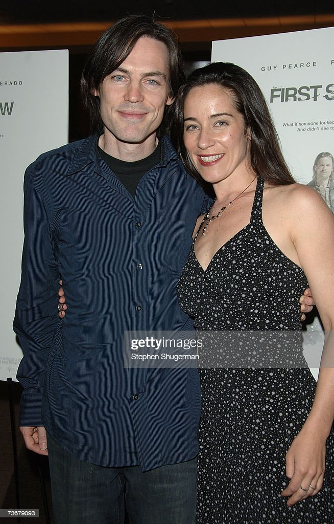 Director Mark Fergus and finance Julie Gawkowski attend the