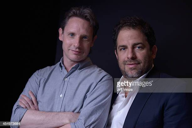 Director Mark Hartley and producer Brett Ratner of Electric Boogaloo The Wild Untold Story of Cannon Films pose for a portrait during the 2014...