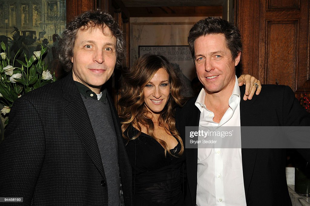 Director Mark Lawrence, Actress Sarah Jessica Parker and actor Hugh Grant attend the premiere of 'Did You Hear About the Morgans?' after party at The Oak Room on December 14, 2009 in New York City.