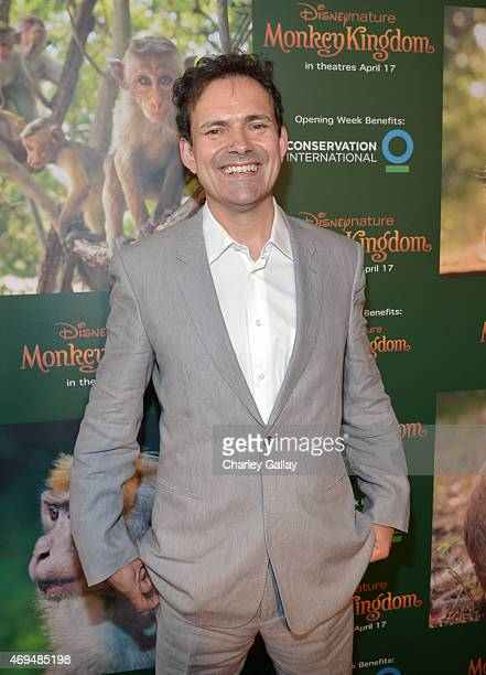 Director Mark Linfield attends the world premiere Of Disney's Monkey Kingdom at Pacific Theatres at The Grove on April 12 2015 in Los Angeles...