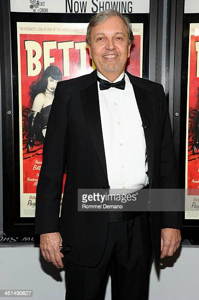 Director Mark Mori attends the screening of Bettie Page Reveals All at Village East Cinema on November 22 2013 in New York City
