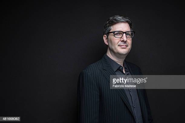 Director Mark Osborne is photographed for The Hollywood Reporter on May 15 2015 in Cannes France