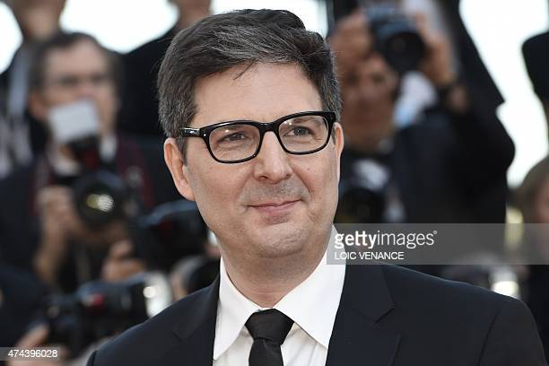 US director Mark Osborne poses as he arrives for the screening of the film The Little Prince at the 68th Cannes Film Festival in Cannes southeastern...