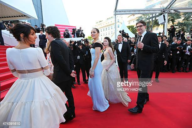 US director Mark Osborne US actress Mackenzie Foy French actress Marion Cotillard French actress Florence Foresti and French actor Guillaume...
