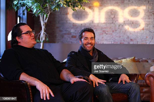 Director Mark Pellington and Actor Jeremy Piven attend the I Melt With You Press Junket At Bing Bar on January 26 2011 in Park City Utah