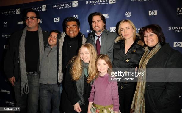 Director Mark Pellington Writer ALbert Torres Actors George Lopez Rachel Seiferth Luke Wilson Morgan Lily Radha Mitchell and Adriana Barraza attend...