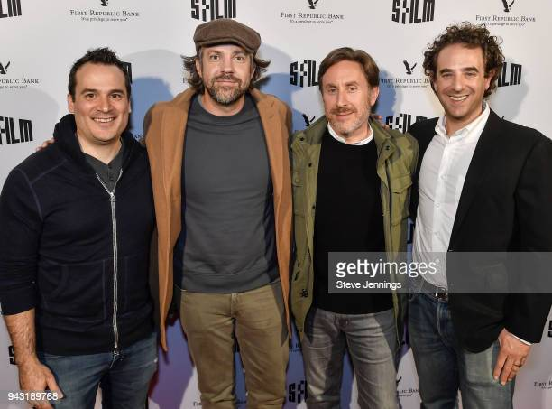 Director Mark Rasso Actor Jason Sudeikis Writer Jonathan Tropper and Producer Eric Robinson attend the San Francisco Film Festival Premiere of...