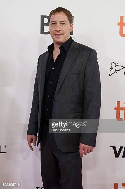 Director Mark Williams attends the premier of 'The Headhunter's Calling' at Roy Thomson Hall on September 14 2016 in Toronto Canada