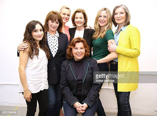 Director Marsha Mason with cast Lucy DeVito Patricia Richardson Elaine Hendrix Jessica Walter Clea Alsip and Susan Sullivan attend the photo call for...