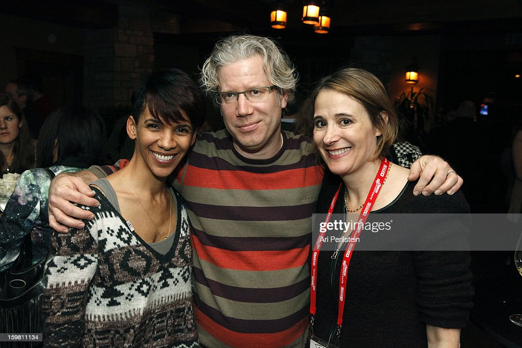 Director Marta Cunningham producer Eddie Schmidt and producer Sasha Alpert attend the HBO Documentary Films Sundance Party on January 20, 2013 in Park City, Utah.