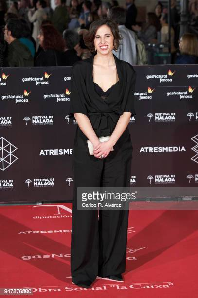 Director Marta Diaz attends 'Las Distancias' premiere during the 21th Malaga Film Festival at the Cervantes Theater on April 17 2018 in Malaga Spain