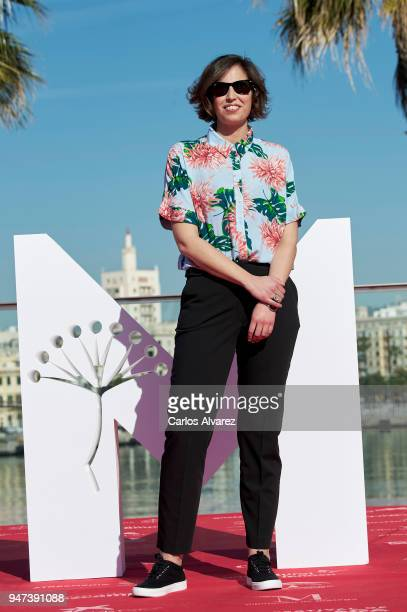 Director Marta Diaz attends 'Mi Querida Cofradia' photocall during the 21th Malaga Film Festival on April 17 2018 in Malaga Spain