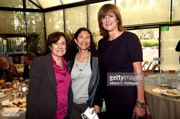 Director Martha Coolidge DGA National Boardmember Liz Ryan and 2017 Frank Capra Achievement award winner Marie Cantin attend the 69th Annual...
