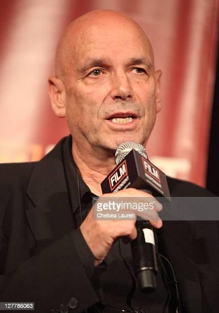 Director Martin Campbell speaks onstage at the 2011 Los Angeles Film Festival 'Green Lantern' special screening held at Regal Cinemas LA Live on June...