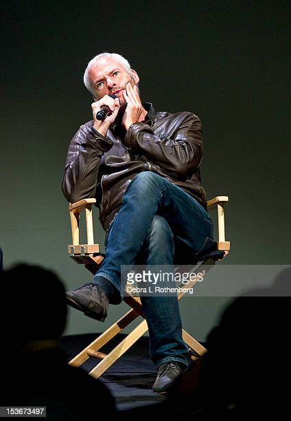 Director Martin McDonagh attends Meet the Filmmaker Martin McDonagh 'Seven Psychopaths' at the Apple Store Soho on October 8 2012 in New York City