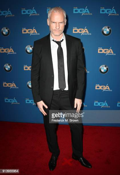 Director Martin McDonagh attends the 70th Annual Directors Guild Of America Awards at The Beverly Hilton Hotel on February 3 2018 in Beverly Hills...