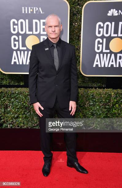 Director Martin McDonagh attends The 75th Annual Golden Globe Awards at The Beverly Hilton Hotel on January 7 2018 in Beverly Hills California