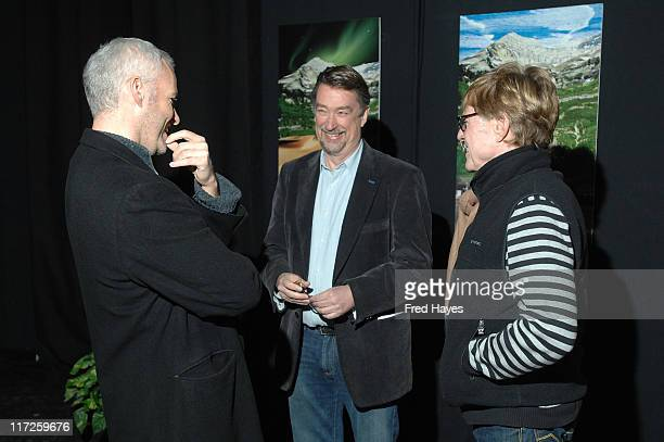 Director Martin McDonagh Director of Sundance Film Festival Geoffrey Gilmore and Robert Redford President and Founder of Sundance Institute attend...