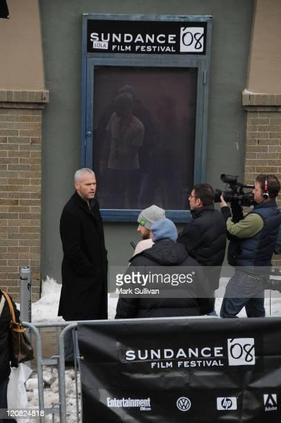 Director Martin McDonagh seen around town at the 2008 Sundance Film Festival on January 17 2008 in Park City Utah