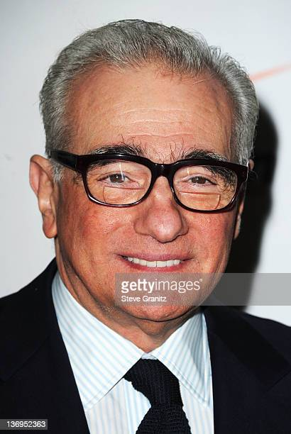 Director Martin Scorcese arrives at the 12th Annual AFI Awards held at the Four Seasons Hotel Los Angeles at Beverly Hills on January 13 2012 in...