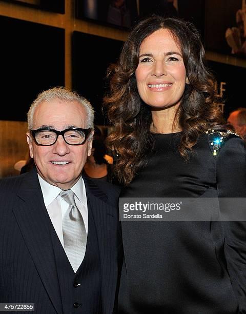 Director Martin Scorsese and actress Roberta Armani attend the Giorgio Armani special celebration honoring Martin Scorsese and Paolo Sorrentino...