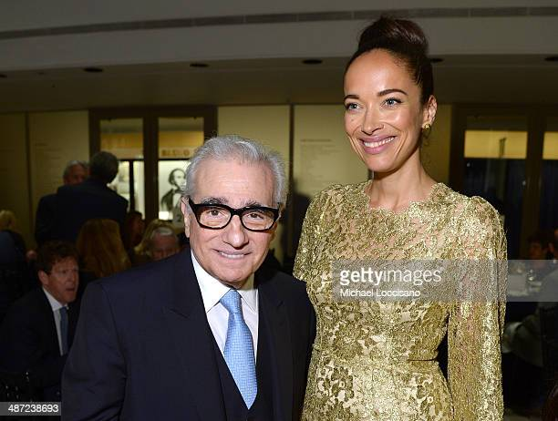 Director Martin Scorsese and Carmen Chaplin actress attends the 41st Annual Chaplin Award Gala dinner at Avery Fisher Hall at Lincoln Center for the...