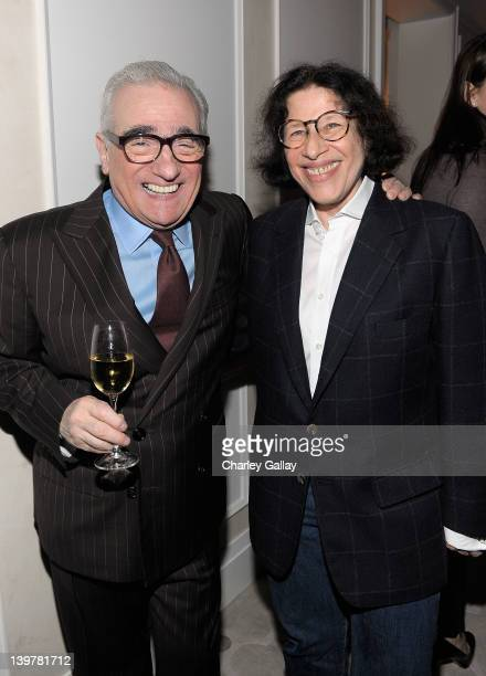 Director Martin Scorsese and Fran Lebowitz attend the Vanity Fair and Richard Mille celebration of Martin Scorsese in support of The Film Foundation...