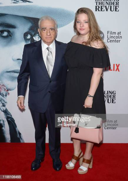 Director Martin Scorsese and Francesca Scorsese attend the Rolling Thunder Revue A Bob Dylan Story By Martin Scorsese New York screening at Alice...