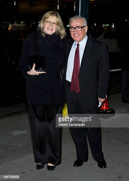 Director Martin Scorsese and Helen Morris attend the 2011 National Board of Review Awards gala at Cipriani 42nd Street on January 10 2012 in New York...
