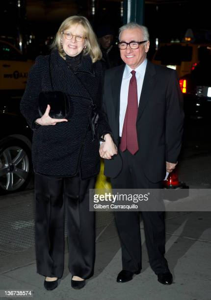 Director Martin Scorsese and Helen Morris attends the 2011 National Board of Review Awards gala at Cipriani 42nd Street on January 10 2012 in New...