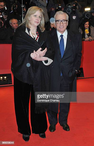 Director Martin Scorsese and his wife Helen Morris attend the 'Shutter Island' Premiere during day three of the 60th Berlin International Film...