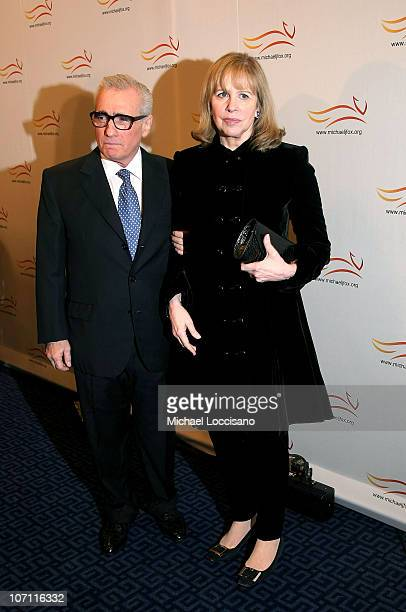 Director Martin Scorsese and wife Julia Cameron attend A Funny Thing Happened on the Way to Cure Parkinson's benefit for the Michael J Fox Foundation...