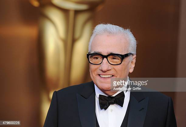 Director Martin Scorsese arrives at the 86th Annual Academy Awards at Hollywood & Highland Center on March 2, 2014 in Hollywood, California.