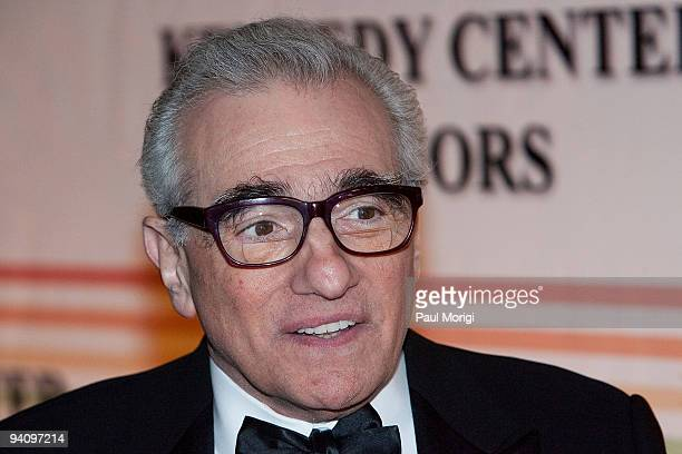 Director Martin Scorsese arrives to the 32nd Kennedy Center Honors at Kennedy Center Hall of States on December 6 2009 in Washington DC