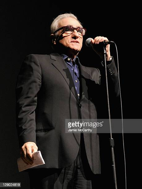 Director Martin Scorsese attends a screening of Hugo at Avery Fisher Hall Lincoln Center on October 10 2011 in New York City