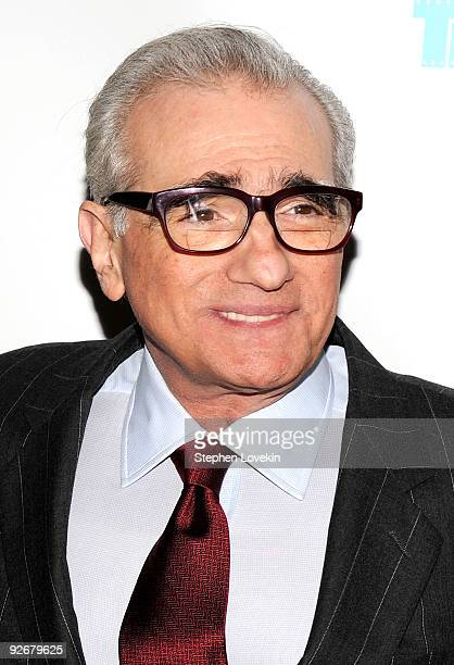Director Martin Scorsese attends a screening of The Red Shoes at the Directors Guild of America Theater on November 3 2009 in New York City