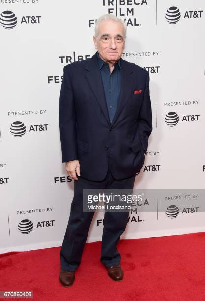 Director Martin Scorsese attends the Abundant Acreage Available Premiere during 2017 Tribeca Film Festival at Cinepolis Chelsea on April 20 2017 in...